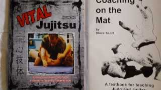 Steve scott discusses some of his books that are available. vital jujitsu and coaching on the mat available from scott. send your check or money or...