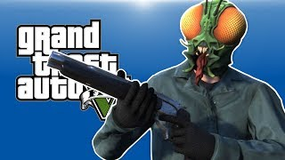 GTA 5 PC Online - EVERY BULLET COUNTS! - (I'm an innocent fly!)