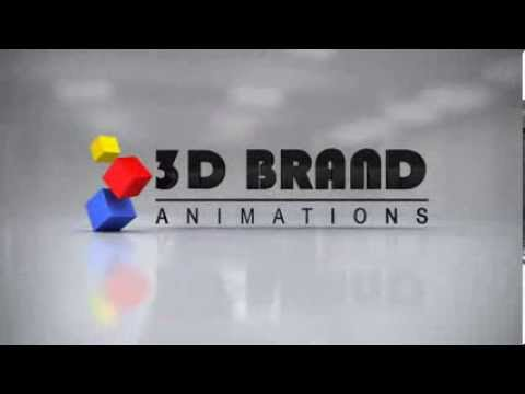 3D Brand Animations  - 3D Logo Animation Variation #7