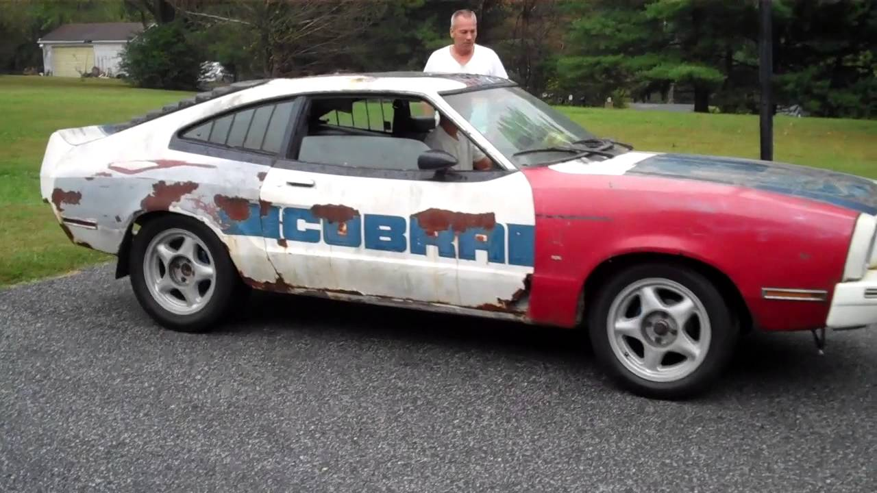 All Types mustang 2 pictures : 1978 Mustang II drives for the first time in 2 decades. - YouTube