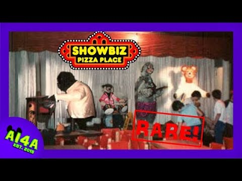 RARE Showbiz Pizza Commercial from 1981!