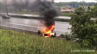 30.05.2019 - Ild i bil - Lyngby