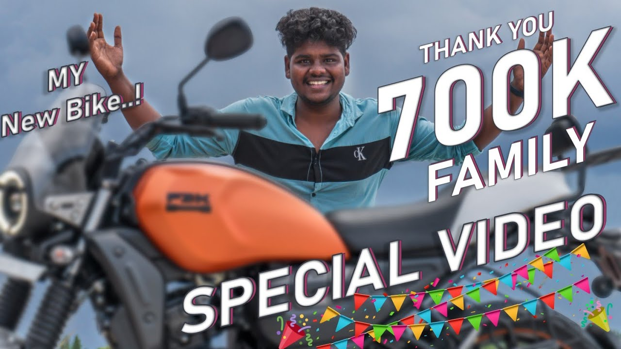 My First bike🏍️700k Subscribers Special Video #offsquad Out of Focus