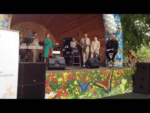 """Anna Ivanova ft. Big Bend George Garanyan - """"Blue Skies"""" Ella Fitzgerald"""