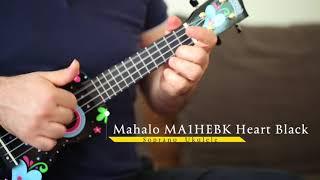 Mahalo MA1HEBK Heart Black