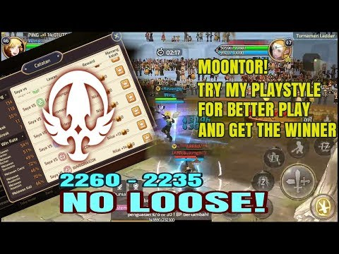 COPY MY PLAYSTYLE! 2260 - 2325 Without Lose W/ MoonLord BE A LIKE Gladiator | Dragon Nest M SEA