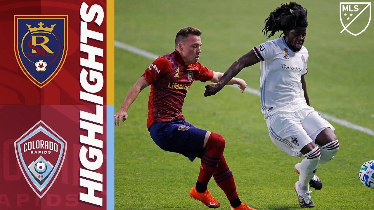 Реал Солт-Лейк  0-5  Колорадо Рэпидз видео