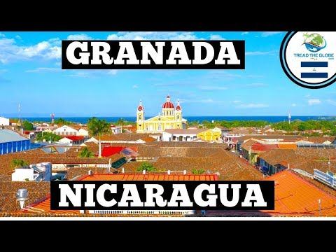 A day in Granada Nicaragua | Backpacking Central America | N