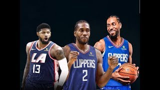 Kawhi Leonard AND Paul George Go to the Clippers, Thunder Trade Paul George to Clippers