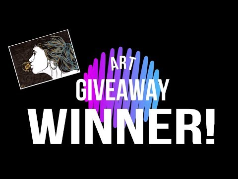 International art giveaway winner pick! 👏Congratulations! 🎉 - Scrawlrbox November 2017