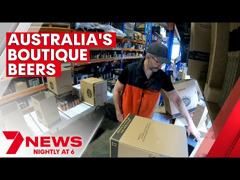 Australia's boutique beer sector continues to buck trends | 7NEWS