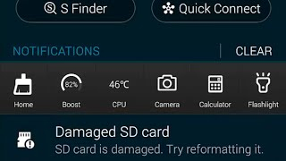How to fix 'Damaged SD card' - SD card is damaged. Try reformatting it (Samsung Galaxy Note 4)