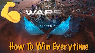Halo Wars 2 :: How to win every time - Xbox One or PC - Rush - Easy 100% Win!