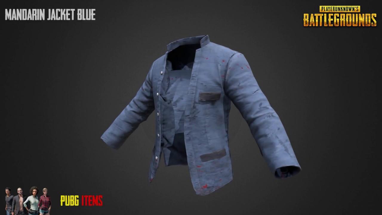 Mandarin Jacket Blue Pubg Item Showcase Youtube