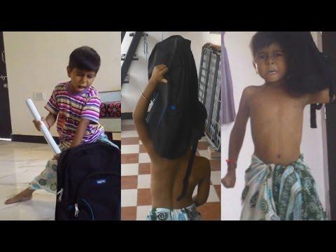 Bahubali Kaun Hai Woh (Sivuni Aana) spoof by 5 Year Old Kid Fan