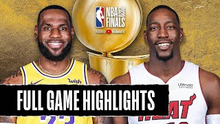 Miami Heat vs Los Angeles Lakers | October 11, 2020