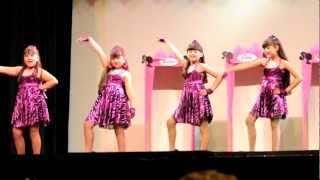 Angelina performing to Barbie Girl at the Peggy Rose Academy 2011 Dance Recital