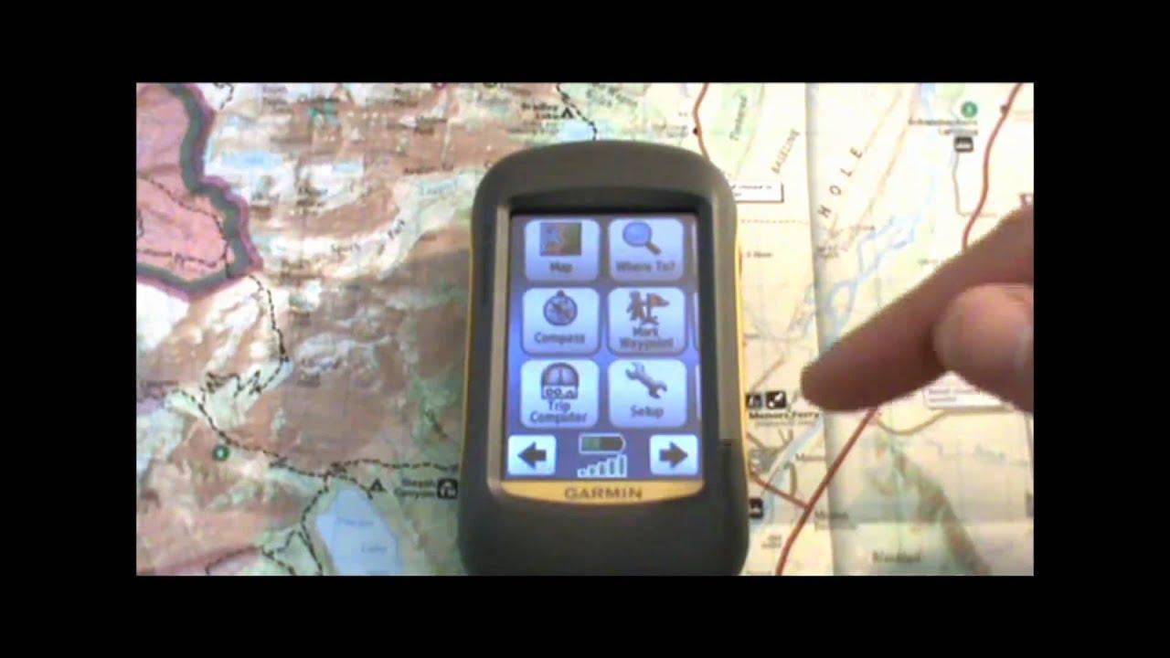 garmin dakota gps tutorial 1 basic operation youtube rh youtube com