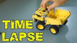 Lego Technic Mining Truck Time Lapse  | 42035