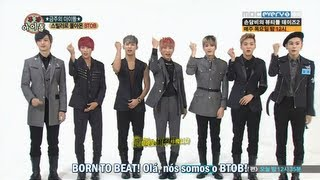 130918 BTOB no Weekly Idol (Thriller Era) [Legendado PT-BR]