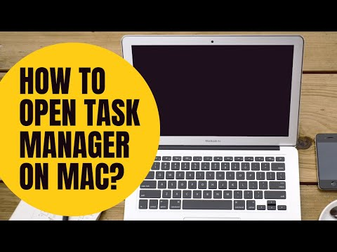 How To Open Task Manager & Kill Tasks On Mac OS? | Not Activity Monitor | No Additional Software