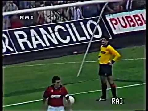 1984 85 serie a milan cremonese 2 1 03 youtube for Serie a table 1984 85