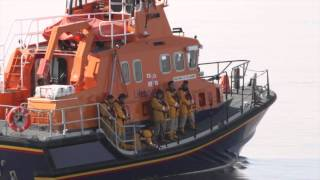 Grace Darling Rescue Commemoration by RNLI September 2013