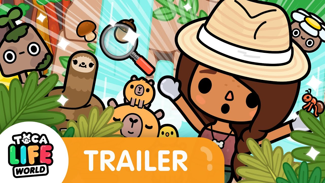 FIND THE ANCIENT SLOTH! ?   Wildlife Trailer   Toca Life: World