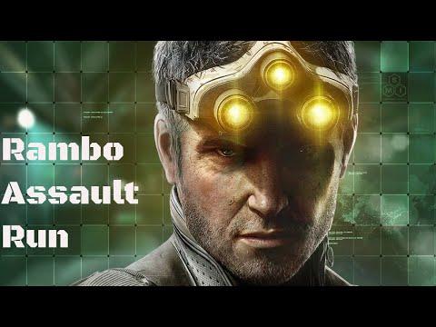 Stealth Rambo SpeedRun Bank Splinter Cell Chaos Theory |