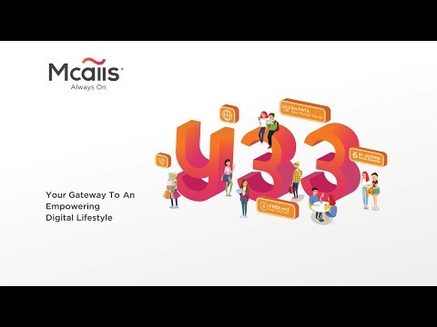 Introducing Mcalls Y33 Prepaid Pack
