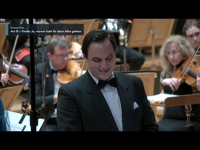 Excerpts from J. Strauss II's 'Blindekuh', conducted by Dario Salvi (World Premiere)