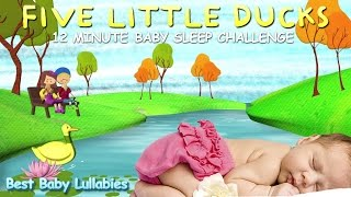 ♥ 15 Minute Songs To Put A Baby To Sleep Lyrics-Baby Lullaby -Lullabies  Bedtime 5 Little Ducks  ♥