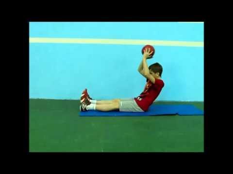 Видеофильм метание мяча  Квач