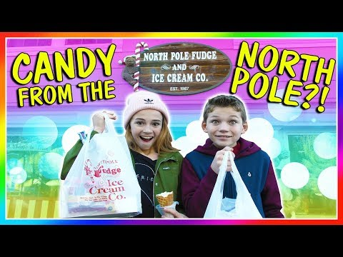 BEST CANDY FROM THE NORTH POLE!  We Are The Davises