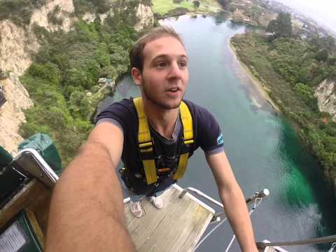 Taupo Bungy Jump Go Pro