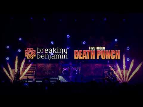 - Breaking Benjamin with Five Finger Death Punch
