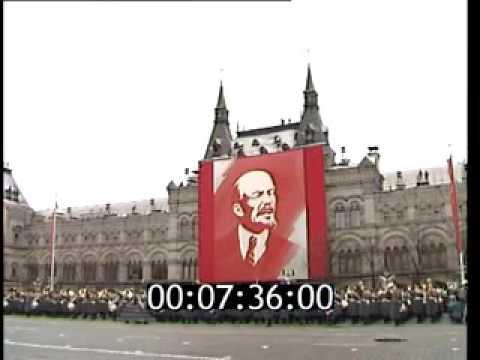 Raw Video Soviet Army Parade Red Square 1990