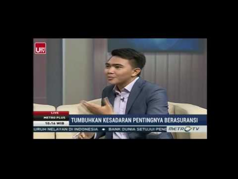 Metro Plus Pagi - Metro TV: Talkshow Bersama Futuready Insurance Broker