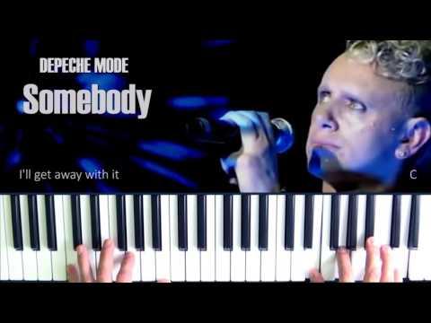 Depeche Mode Somebody Piano Cover