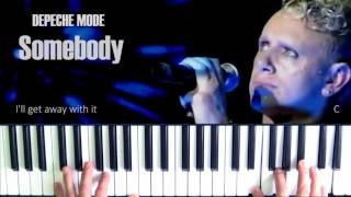 Depeche Mode Somebody Piano Cover