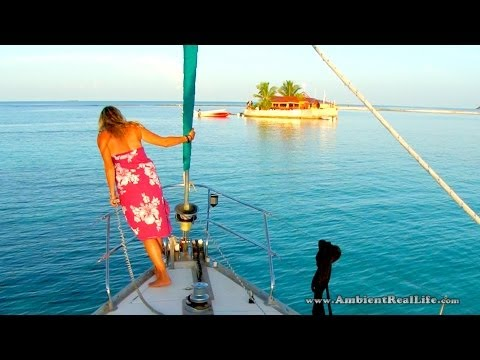 CARIBBEAN Sailing - The Perfect Day of Sailing w/all Girl Crew, Diving & Fishing! - Part 5 of 5