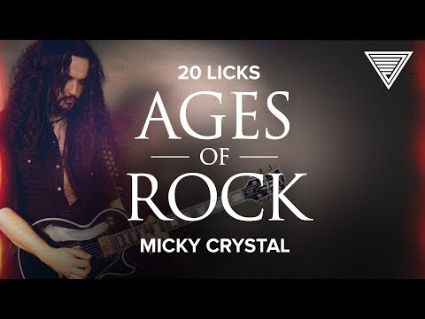 Micky Crystal's '20 Licks: Ages Of Rock' | JamTrackCentral.com