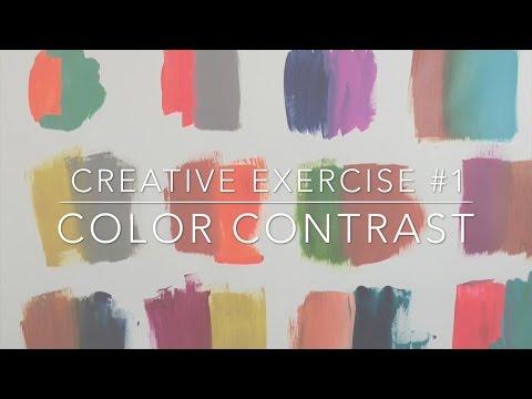 Flora Bowley's Studio Diaries: Exploring Color Contrast