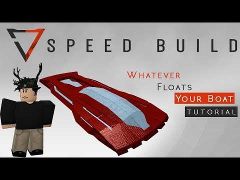 How To Build An Armored Speed Boat In Whatever Floats Your Boat!