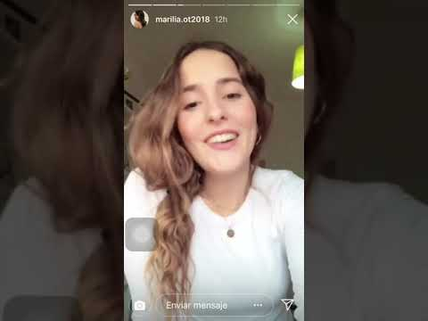 Marilia Monzon (OT 2018) - Stories 07/01/19 #OTDirecto7ENE