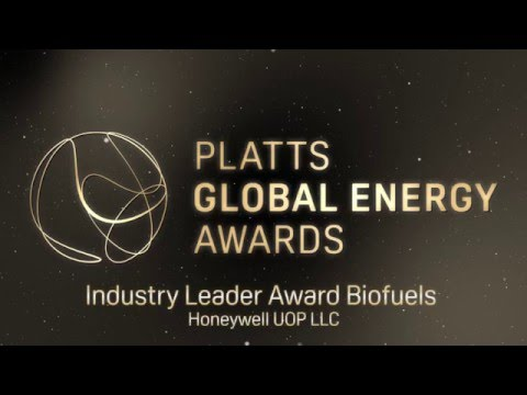 Industry leader in Biofuels @ Platts Global Energy Awards