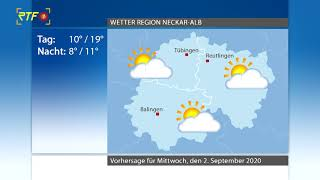 RTF.1-Wetter 01.09.2020