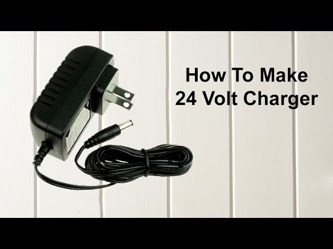 How to make a 24 volt charger