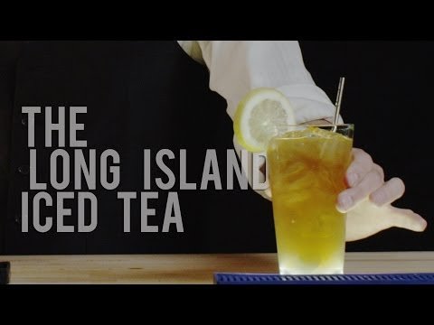 How to Make The Long Island Iced Tea - Best Drink Recipes