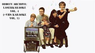 Oddity Archive: Episode 106 – LaserKaraoke Vol. 4 (+ VHS Karaoke Vol. 1)